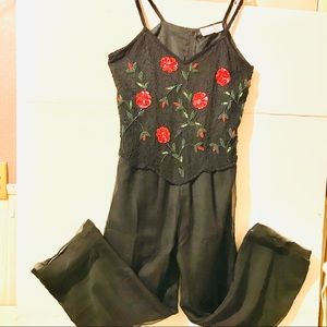 Styleworks Women black Jumpsuit